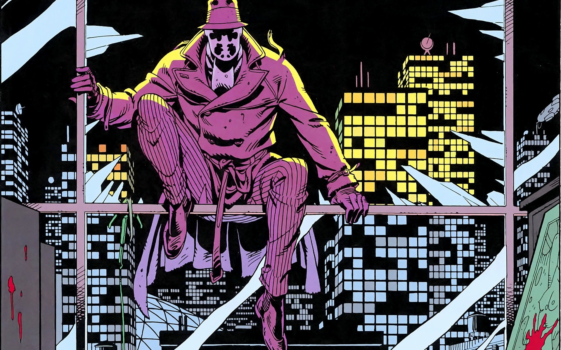 Watchmen comic DC completo 12/12 (userscloud)