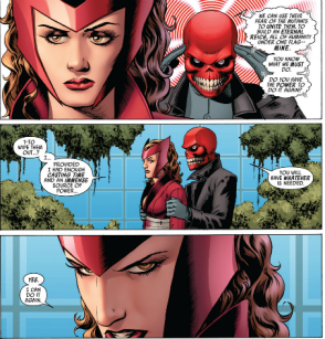 Scarlet Witch - hostage