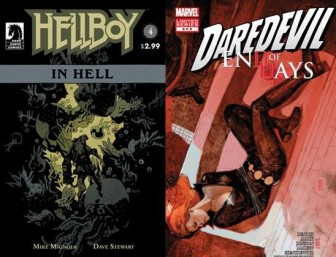 Hellboy in Hell #4 and Daredevil: End of Days #6
