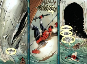 Deadpool vs Moby Dick