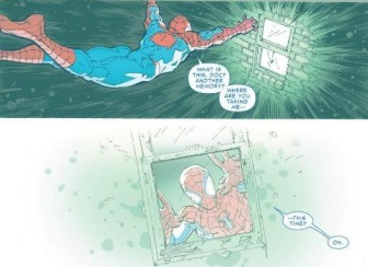 Spidey in Doc Ocks memories