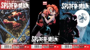 Superior Spider-Man #1, #2 and #3