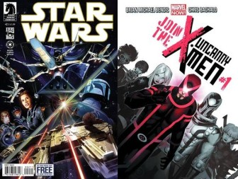 Star Wars #2 and Uncanny X-Men #1
