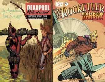 Deadpool Killustrated #2 and Rocketeer: Hollywood Horror #1