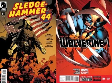 Sledgehammer 44 #1 and Wolverine #1