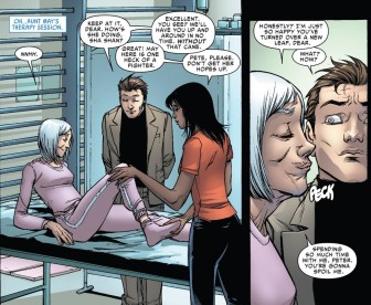 Pete helps Aunt May