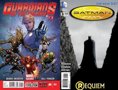 Guardians of the Galaxy #1 and Batman Incorporated #9
