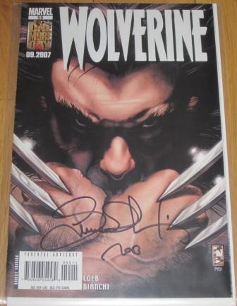 Wolverine #55 - signed Simone Bianchi