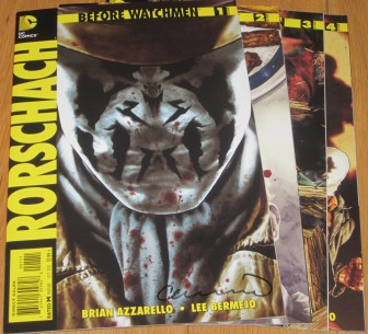 Before Watchmen Rorschach #1-4 - #1 signed Lee Bermejo