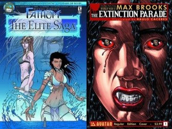 Fathom:Elite Saga #1 and The Extinction Parade #1