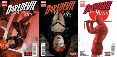 Daredevil: End of Days #6, 7 and 8