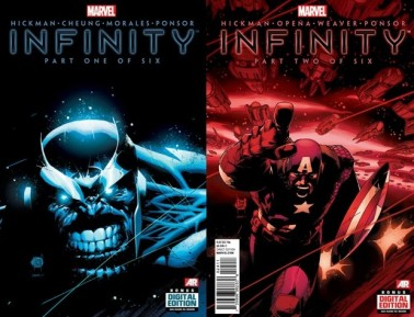 Infinity #1 and #2