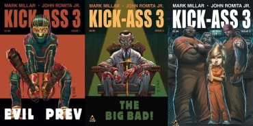 Kick-Ass 3 #1, 2 and 3