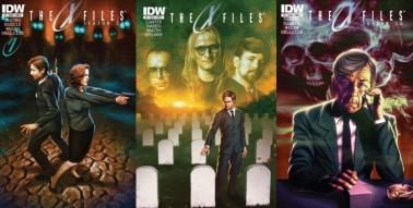 X-Files Season 10 #1, 2 and 3