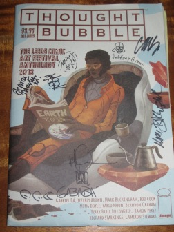 Thought Bubble Anthology 2013 - signed