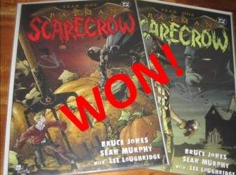 Batman: Scarecrow Year One #1 & 2 - Signed by Artist Sean Murphy